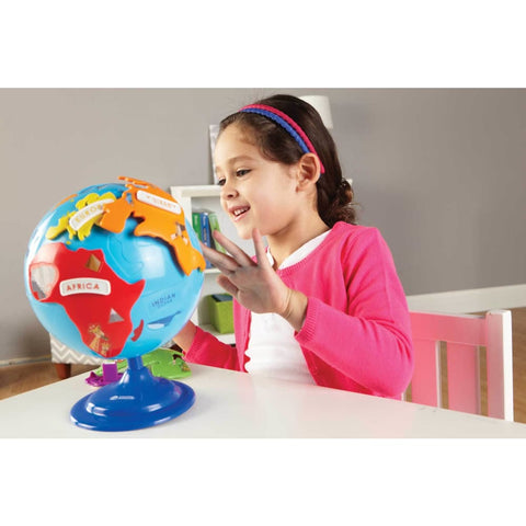 Image of Learning Resources Puzzle Globe - 765023077353