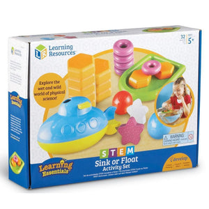 Learning Resources STEM Primary Activity Set Sink or Float - 765023028270