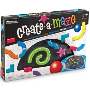Learning Resources Tilt-a-Maze A Create Your Own Game - 659213156068