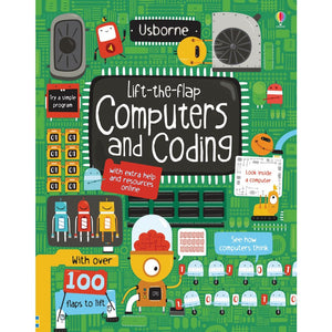 Lift-the-Flap Computers and Coding - Usborne Books