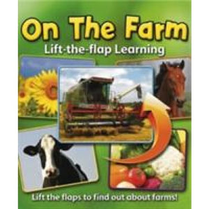 Lift-the-Flap Learning: On the Farm - Anness Publishing 9781843227946