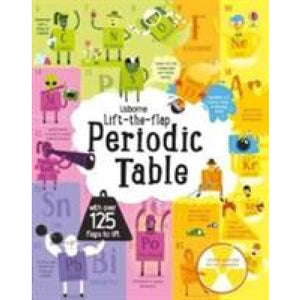 Lift-The-Flap Periodic Table - Usborne Books 9781474922661