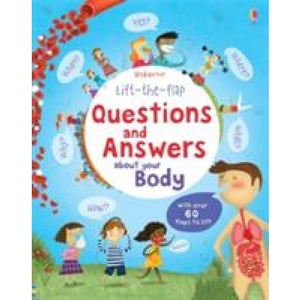 Lift the Flap Questions and Answers about your Body - Usborne Books