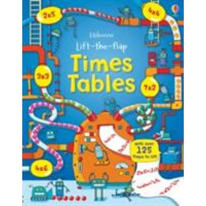 Lift the Flap Times Tables Book - Usborne Books 9781409550242