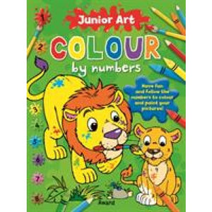 Lion: Colour By Numbers - Award Publications 9781841358574