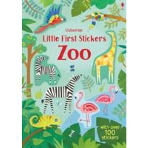 Little First Stickers Zoo - Usborne Books