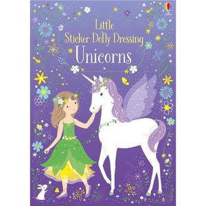 Little Sticker Dolly Dressing Unicorns - Usborne Books 9781474946513