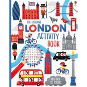 London Activity Book - Usborne Books