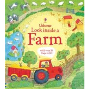 Look Inside a Farm - Usborne Books 9781409566182