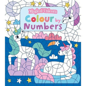 Magical Unicorn Colour by Numbers - Arcturus Publishing 9781789501544