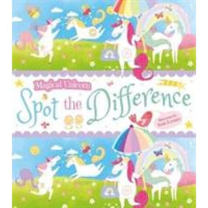 Magical Unicorn Spot the Difference - Arcturus Publishing 9781788881531