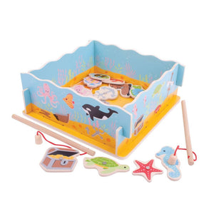 Magnetic Fishing Game with Base - Bigjigs Toys 691621197875