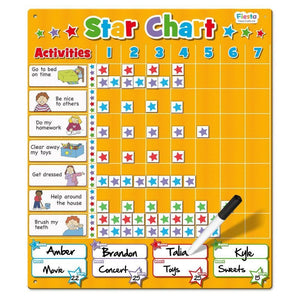 Magnetic Large Star Chart - Fiesta Crafts