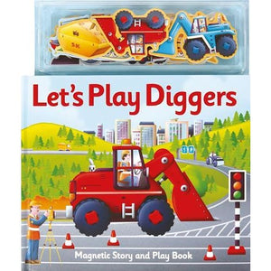 Magnetic Let's Play Diggers - Imagine That Publishing 9781787009721