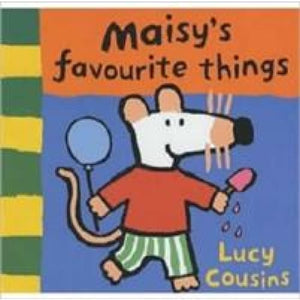Maisy's Favourite Things Chunky Board - Walker Books 9780744544114