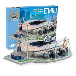 Manchester City Etihad 3D Jigsaw - Paul Lamond 5012822037459