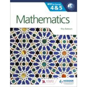 Mathematics for the IB MYP 4 & 5: By Concept - Hodder Education 9781471841521