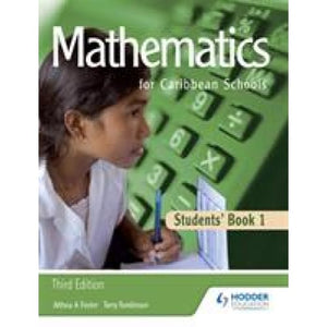 Maths for Caribbean Schools: New Edition 1 - Hodder Education 9781405847773
