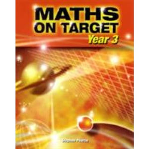 Maths on Target Year 3 - Elmwood Education 9781902214917