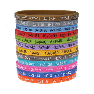 Maths Times Tables Multibandz Wristbands - BrightMinds