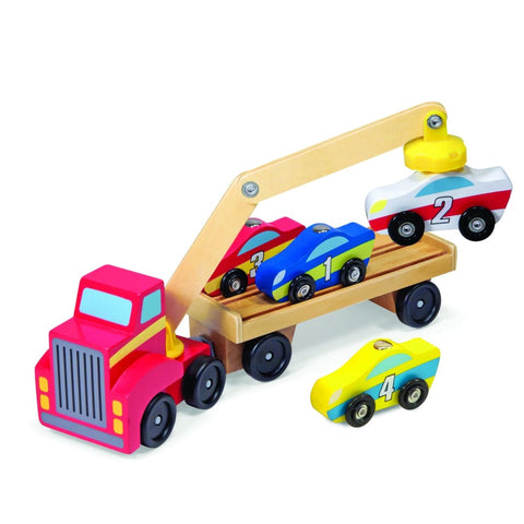 Image of Melissa and Doug Magnetic Car Loader - 772193900