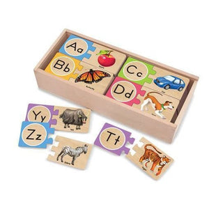 Melissa and Doug Self-Correcting Letter Puzzles - 772125413