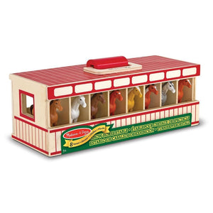 Melissa and Doug Show-Horse Stable - 772137447
