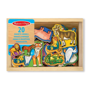 Melissa and Doug Wooden Animal Magnets - 772104753