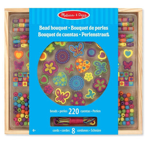Melissa and Doug Wooden Bead Bouquet - 772141697