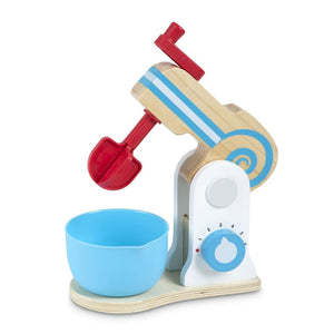 Melissa and Doug Wooden Make-a-Cake Mixer Set - 000772198400