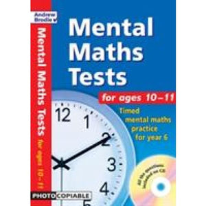 Mental Maths Tests for Ages 10-11: Timed Year 6 - Bloomsbury Publishing 9780713673104