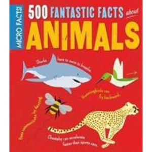 Micro Facts! 500 Fantastic Facts About Animals - Arcturus Publishing 9781784287962