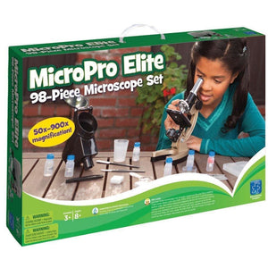 MicroPro Elite 98-Piece Microscope Set - Learning Resources