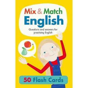 Mix & Match English 50 Flash Cards: Questions and answers for practising - b small publishing 9781912909001