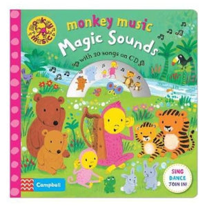 Monkey Music Magic Sounds: Book and CD Pack - Pan Macmillan 9781509823994