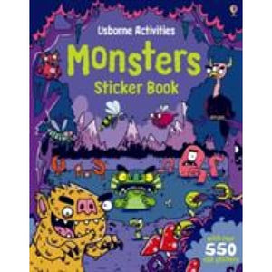 Monsters Sticker Book - Usborne Books 9781409548843