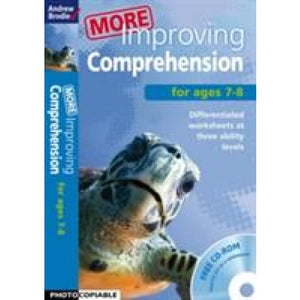 More Improving Comprehension 7-8 - Bloomsbury Publishing 9781408168387