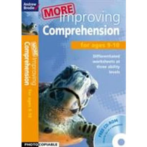 More Improving Comprehension 9-10 - Bloomsbury Publishing 9781408168363