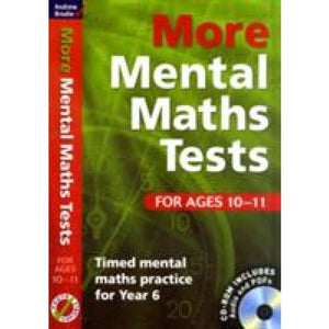 More Mental Maths Tests for Ages 10-11: Timed Practice Year 6 - Bloomsbury Publishing 9781408124086