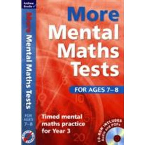 More Mental Maths Tests for Ages 7-8: Timed Practice Year 3 - Bloomsbury Publishing 9781408124079