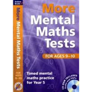 More Mental Maths Tests for Ages 9-10: Timed Practice Year 5 - Bloomsbury Publishing 9781408124062