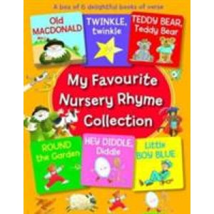 My Favourite Nursery Rhyme Collection: A Box of 6 Delightful Books Verse - Anness Publishing 9781861477408