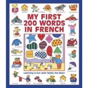My First 200 Words in French (Giant Size) - Anness Publishing 9781861477606