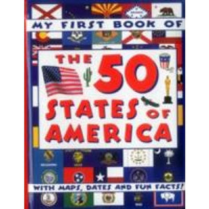 My First Book of the 50 States America - Anness Publishing 9781861476289
