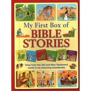 My First Box of Bible Stories - Anness Publishing 9781861478542
