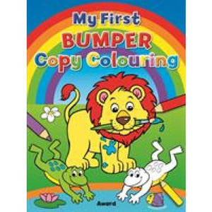 My First Bumper Copy Colouring - Award Publications 9781841359991