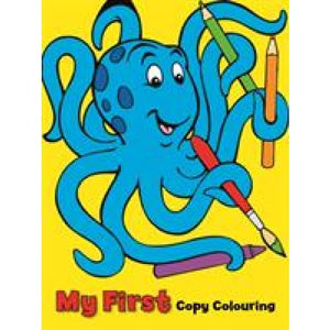 My First Colouring Book: Octopus - Award Publications 9781841358192