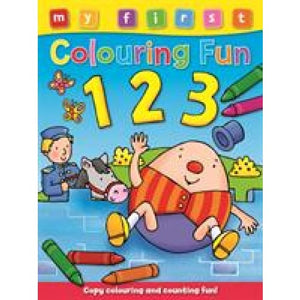 My First Colouring Fun 123 - Award Publications 9781841358918