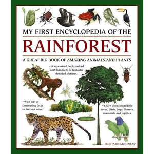 My First Encyclopedia of the Rainforest: A Great Big Book Amazing Animals and Plants - Anness Publishing 9781861478481