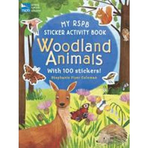 My RSPB Sticker Activity Book: Woodland Animals - Walker Books 9781406381627